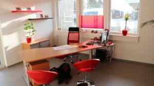 KURZ Karkassenhandel - Innenansicht Büro