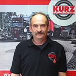 KURZ Karkassenhandel - LKW-Fahrer Nahverkehr: Michael Dicki