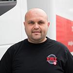 KURZ Karkassenhandel - LKW-Fahrer: Stanchev Ivo