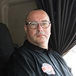 KURZ Karkassenhandel - LKW Fahrer: Thomas Schlosser