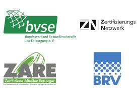KURZ Karkassenhandel Logos - Zertifizierungen