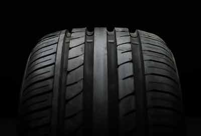 KURZ Karkassenhandel - neuer Reifen schwarz