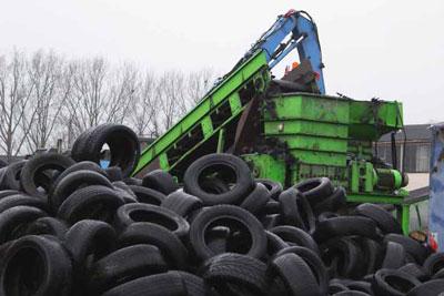 KURZ Karkassenhandel - Reifen unsortiert