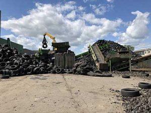 Kurz Karkassenhandel LKW-Reifen Entsorgung und Gebrauchtreifen
