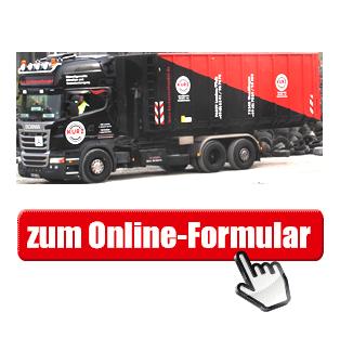 Banner - Zum Online-Formular: Altreifenabholung