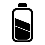 Icon - Akkus statt Batterien