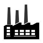 Icon - Industrielle Gummiabfälle