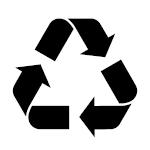 Icon - Weiterverarbeitung und Recycling