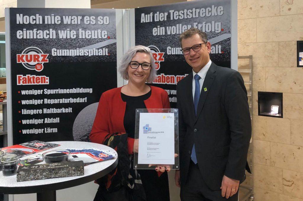 KURZ Karkassenhandel gewinnt Innovationspreis!