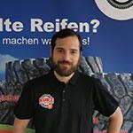 KURZ Mitarbeiter Benjamin Glas