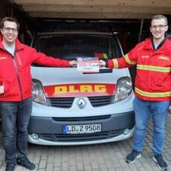 Spendenempfänger KURZ Jubiläum DLRG Landau e.V.
